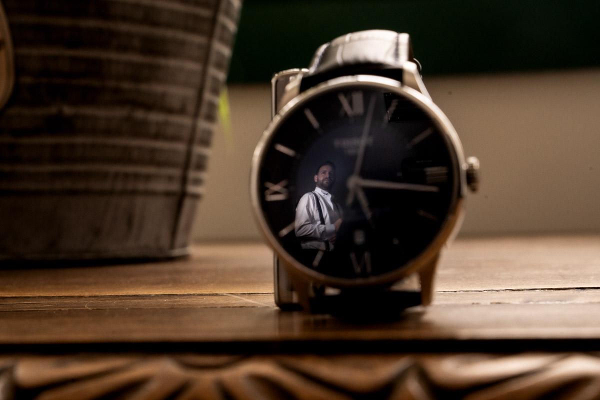REflejo reloj